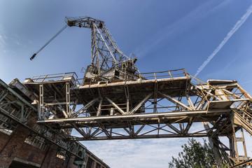The historic shipyard crane
