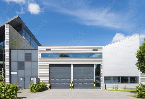 Leinwandbild Motiv industrial unit