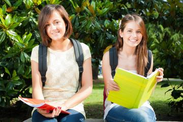 Female students portrait