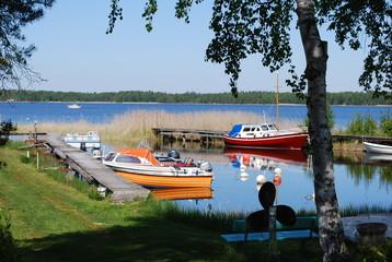 kleine Bucht am Vänern