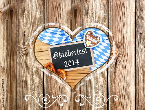 canvas print picture Oktoberfest 2014