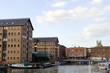 Leinwanddruck Bild - Gloucester Docks on a Sunny Summers Day