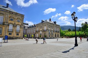 Royal Palace of La Granja de San Ildefonso, Segovia.