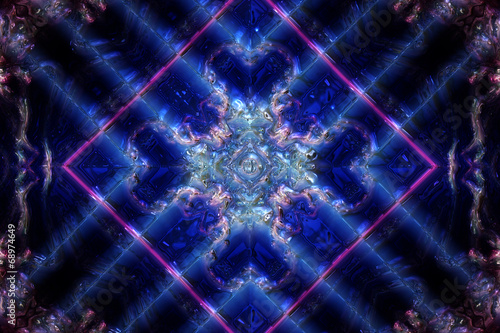 canvas print picture fantastic illustrated glass background object