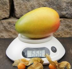 Mango wiegen