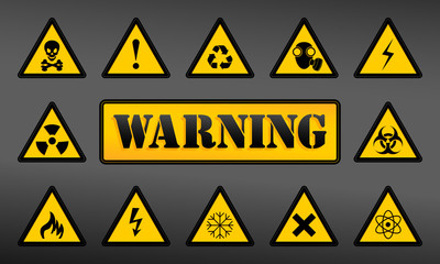 Set Warning Icons