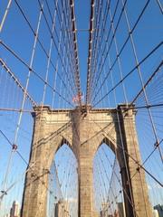Brooklynbridge, NYC, USA