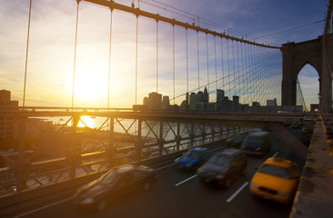Brooklyn Bridge, Manhatten, New York