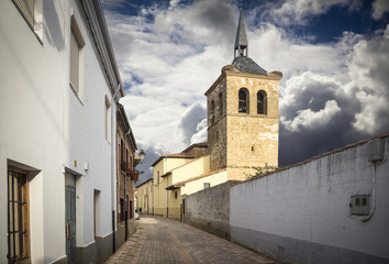 Spanish town - Mansilla de las Mulas