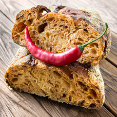 Chili-Brot