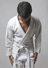 Young Man In Kimono