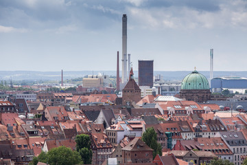 Nuernberg city germany