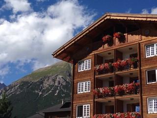 tipica costruzione di montagna