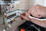 Gas water heater reparation