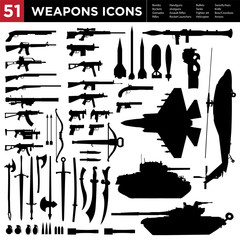 51 Weapons Collection