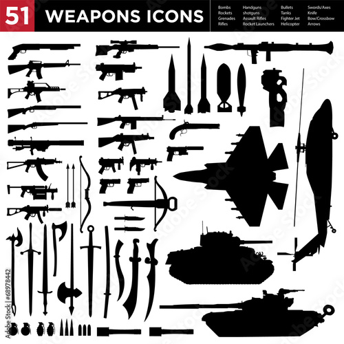 51 Weapons Collection - 68978442