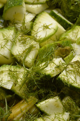 Aneto y zucchini