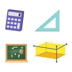 Mathematics set vector