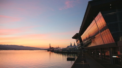 Vancouver Convention Center Reflection