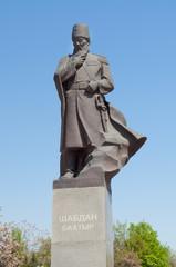 Monument to Shabdan Baatyr (Shabdan Djantaev)