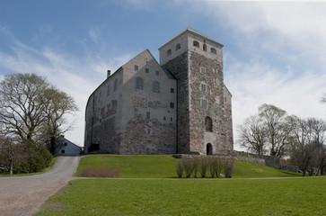 Замок Або весенним днем. Турку, Финляндия