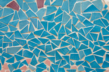 Colorful of Mosaic tiles for background