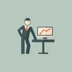 Presentation Flat Icon
