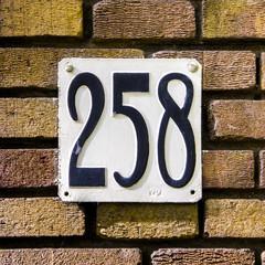 Number 258