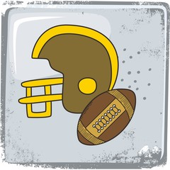 american football sports theme