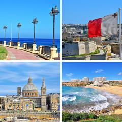 Malta landmarks
