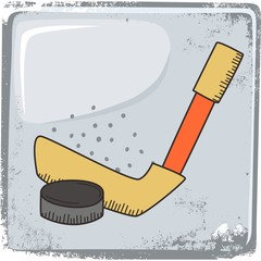 hockey sports theme
