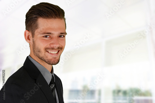 canvas print picture Businessman