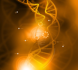 DNA structure..