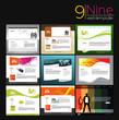 Zdjęcia na płótnie, fototapety, obrazy : abstract business web site design template, vector illustration.