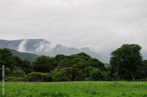 canvas print picture Snowdonia