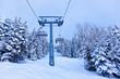 Mountains ski resort Zell-am-See Austria