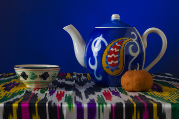 Muslim still life with tea.