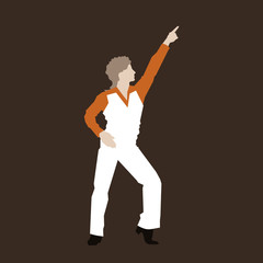 Dancer of a disco