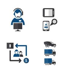 Process icons