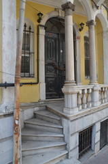 Old house entrance, Balata, Fatih, district, Istanbul