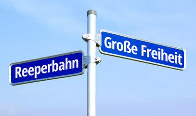 Reeperbahn - Große Freiheit