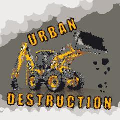 Urban destruction for your design