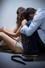 Husband regrets violence
