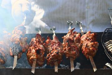 kebab skewers barbecue