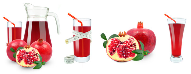 pomegranate juice and meter