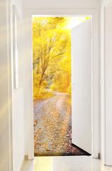 Tür zum Herbst - Door to autumn