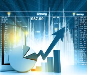 Economical business chart.