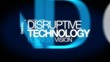 Disruptive technology innovation revolution word tag cloud video