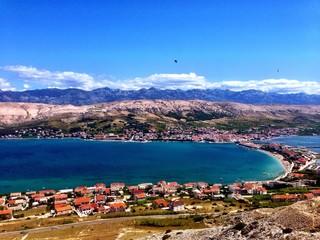 Stunning Croatian island panorama view