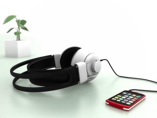 スマートフォンで音楽